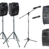 Microphone Hire Wedding Kit With Mic Stand